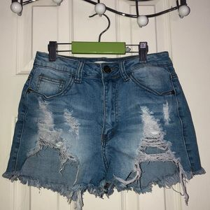 2 for $50💕jean shorts